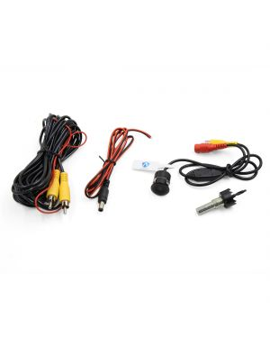 Car Vehicle Rear View Parking Camera Reverse Back Sight System w Hole Saw